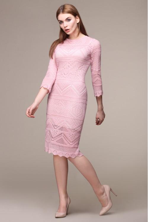 Платье женское C2582 из белорусского трикотажа купить оптом и в розницу