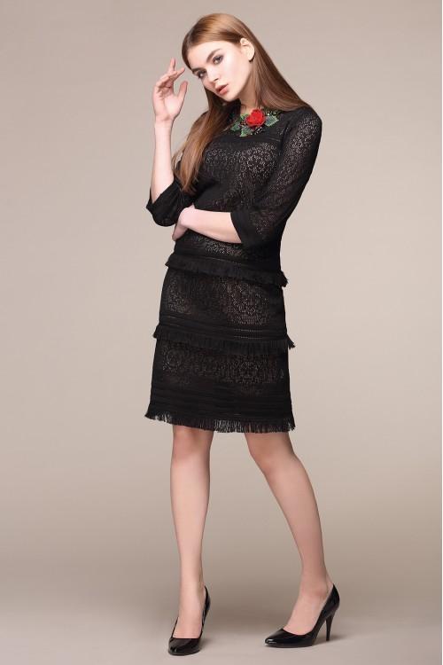 Платье женское C2583 из белорусского трикотажа купить оптом и в розницу