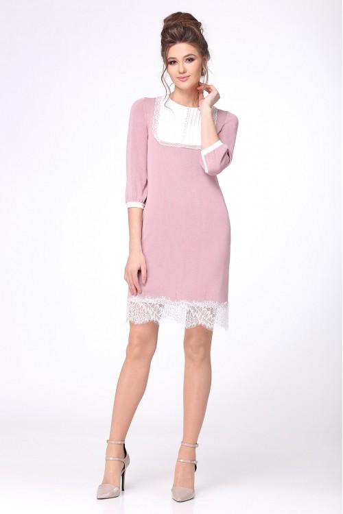Платье женское C2635 из белорусского трикотажа купить оптом и в розницу