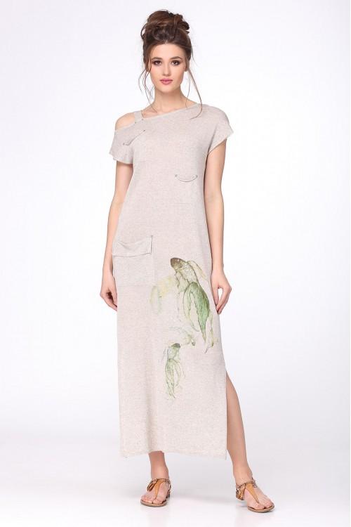 Платье женское C2637 из белорусского трикотажа купить оптом и в розницу