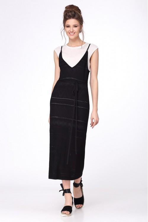 Платье женское C2638 из белорусского трикотажа купить оптом и в розницу