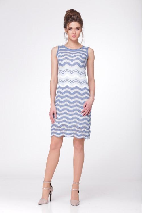Платье женское C2584 из белорусского трикотажа купить оптом и в розницу